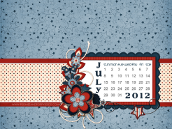 july 2012 desktop calendar thumbnail
