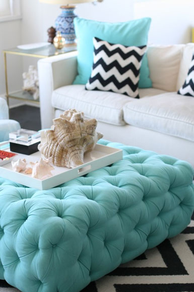 Belle Maison On The Hunt For An Upholstered Ottoman Table
