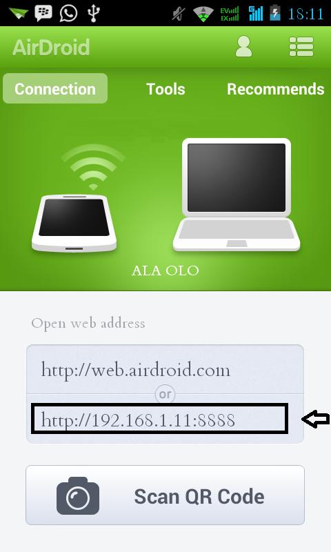 Cara Mengakses/Remote Ponsel Android Menggunakan Komputer