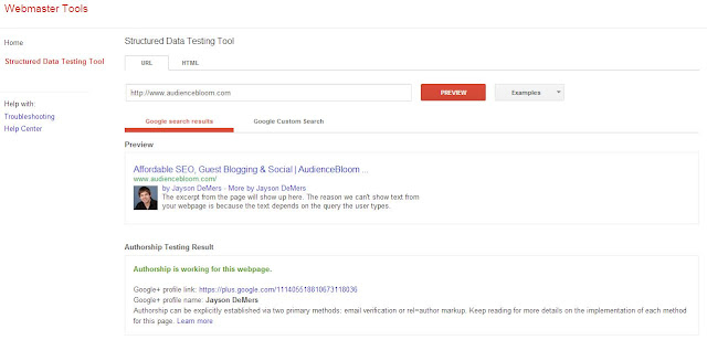 Google Authorship