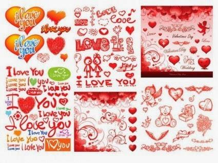 Valentine day vector 3
