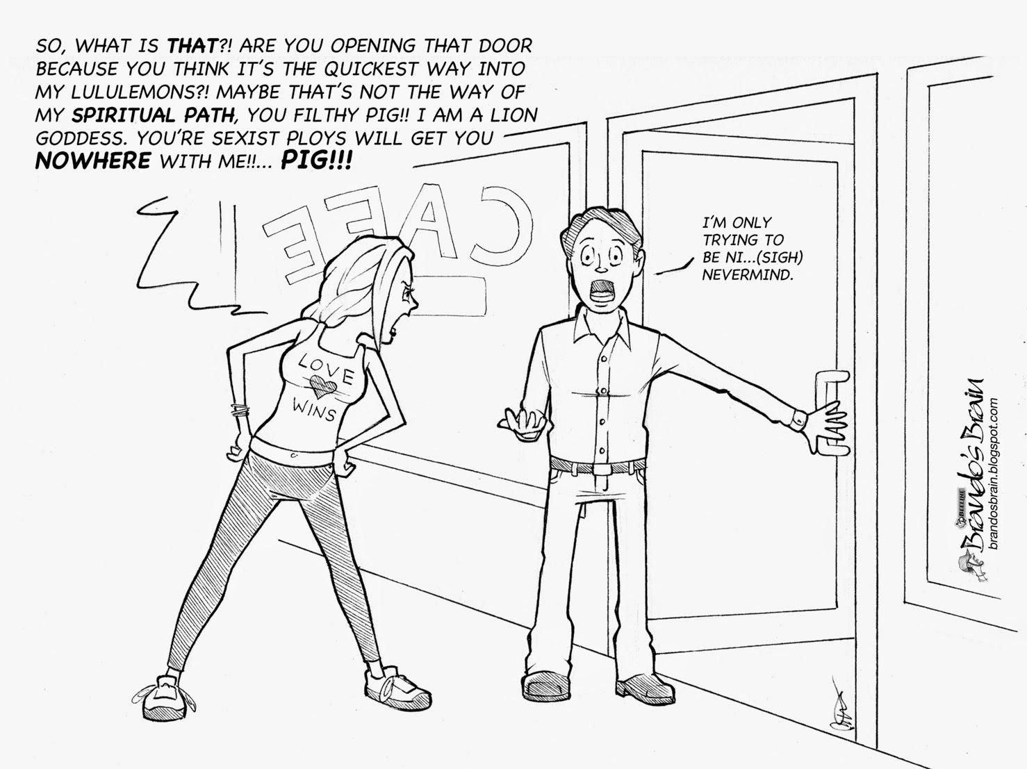 Door Opening Drawing The Open Door Policy of The