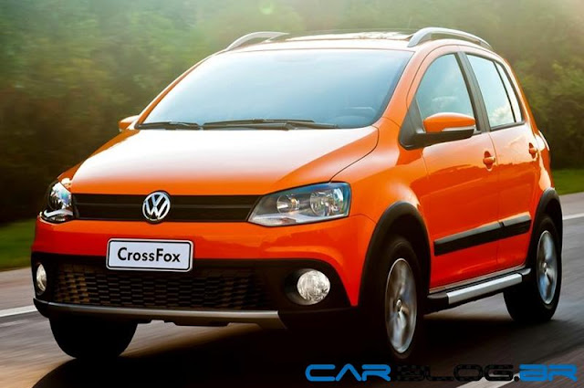 VW CrossFox 2013