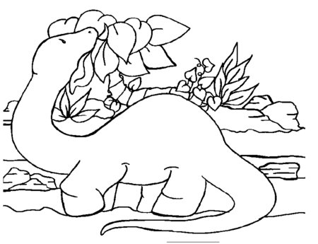 free dinosaurs coloring book pages for kids