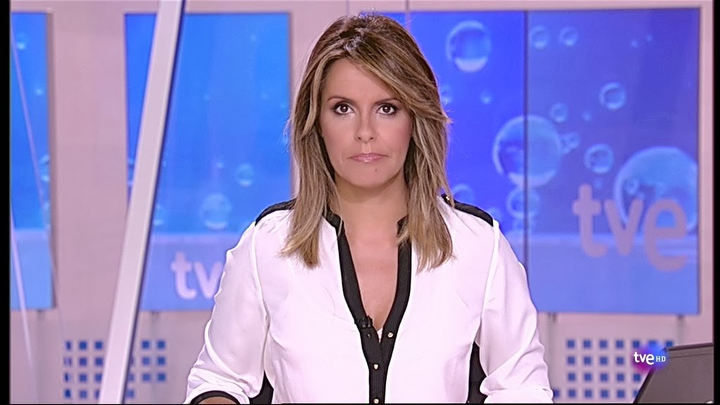 PILAR GARCIA MUÑIZ, TELEDIARIO 1ª EDICION (04.10.13)