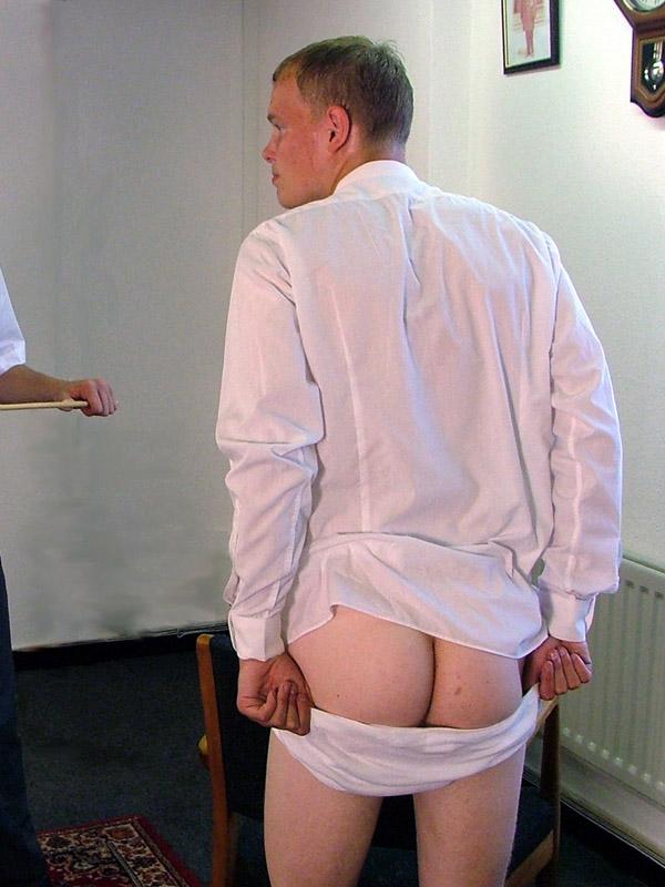schoolboys spanking