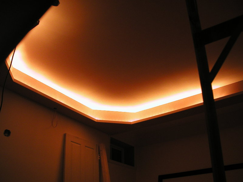 Tray Ceiling Rope Lighting