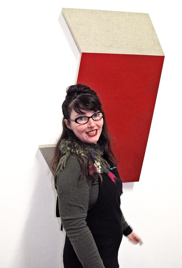 Artist portrait, Louise Blyton, SNO 84