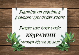 Don't forget to enter the Host Code when checking out...