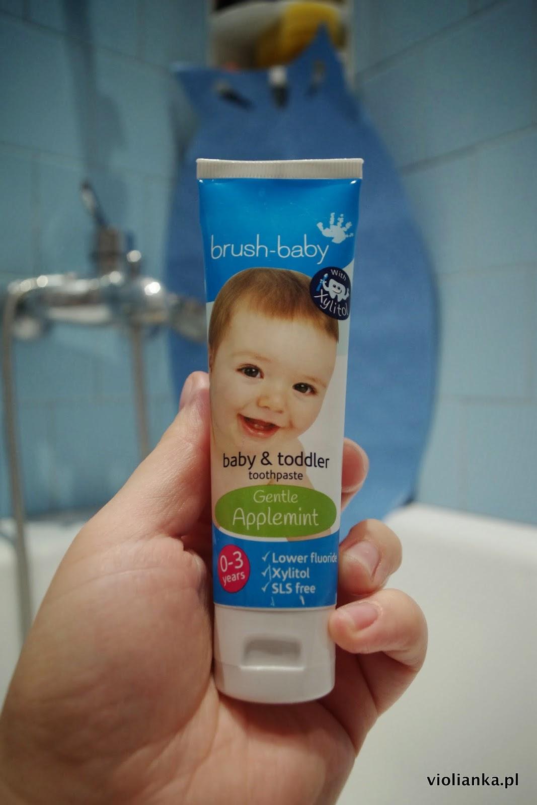 szczoteczka soniczna brush baby