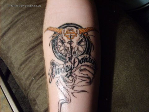 Harley davidson motorcycle harley davidson tattoo designs for Custom tattoo armrest for sale