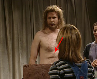 Will Farrell skin fold Needs More Cowbell SNL skit shirt off belly Blue Oyster Cult