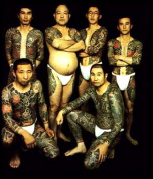 Japanese Folklore  Yakuza  Body Art