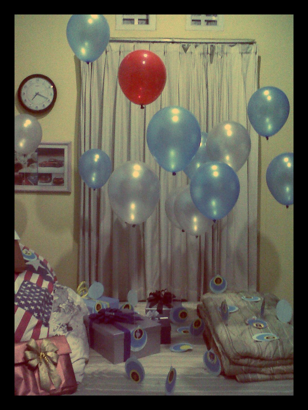 Dekorasi kamar ulang tahun simple dekorasi ultah ulang tahun for Dekor ulang tahun