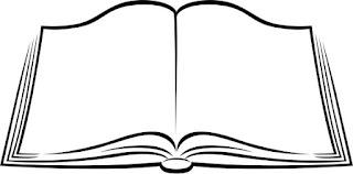 Imágenes de libros abiertos para colorear 4
