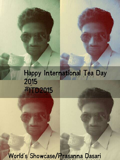 International Tea Day - Dec 15, 2015
