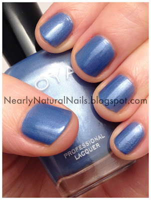Zoya, Jo, manicure, nail polish, swatch, light blue, metallic, frost, short nails, shimmer, mani, nails, lacquer, big 3 free, big 5 free, non-toxic, vegan, natural, nearly natural nails, my stash