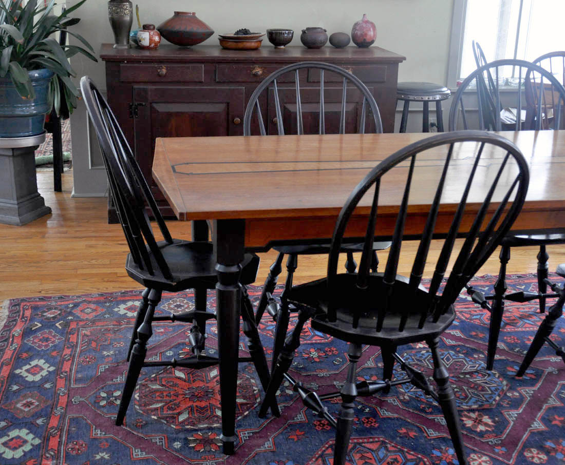 Dorset custom furniture a woodworkers photo journal a few and then we also made two bethlehem steel style coffee tables this client bought the original one board mahogany version last year at open studio geotapseo Choice Image