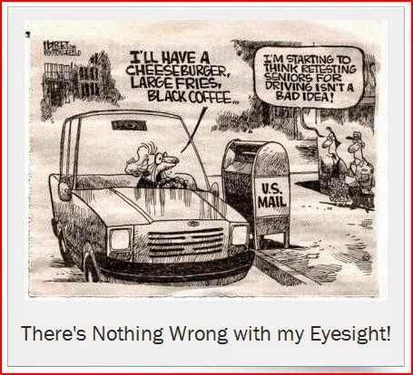 There's Nothing Wrong with my Eyesight cartoon