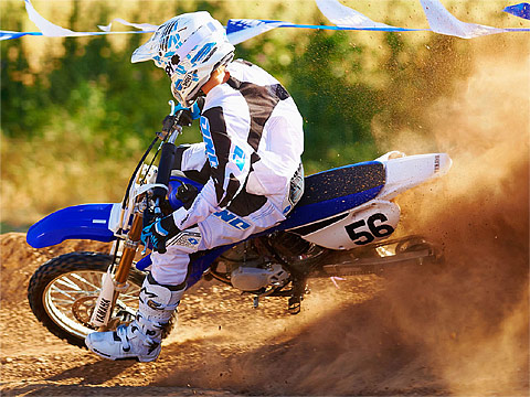 2013 Yamaha YZ85 2-Stroke Gambar Motor 480 x 360 pixels