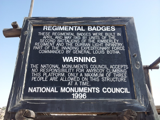The Regimental Badges Namibia
