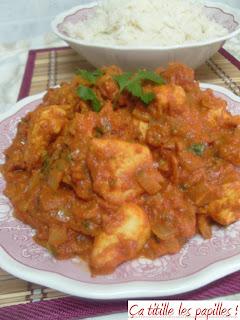 Butter chicken, Ça titille les papilles !, Inde, Poulet Makhani