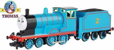 Thomas the tank engine Bachmann electric toy railway scale model HO train Edward the blue engine