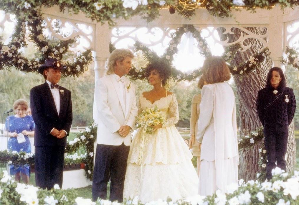 Elizabeth Taylor And Michael Jackson Wedding Elizabeth Taylor Wedding