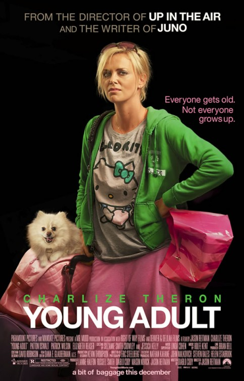 Young Adult will be released in theaters on December 16th.