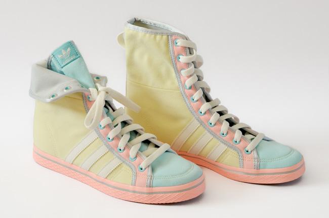 Adidas Honey Hi Red White Shoes Uk