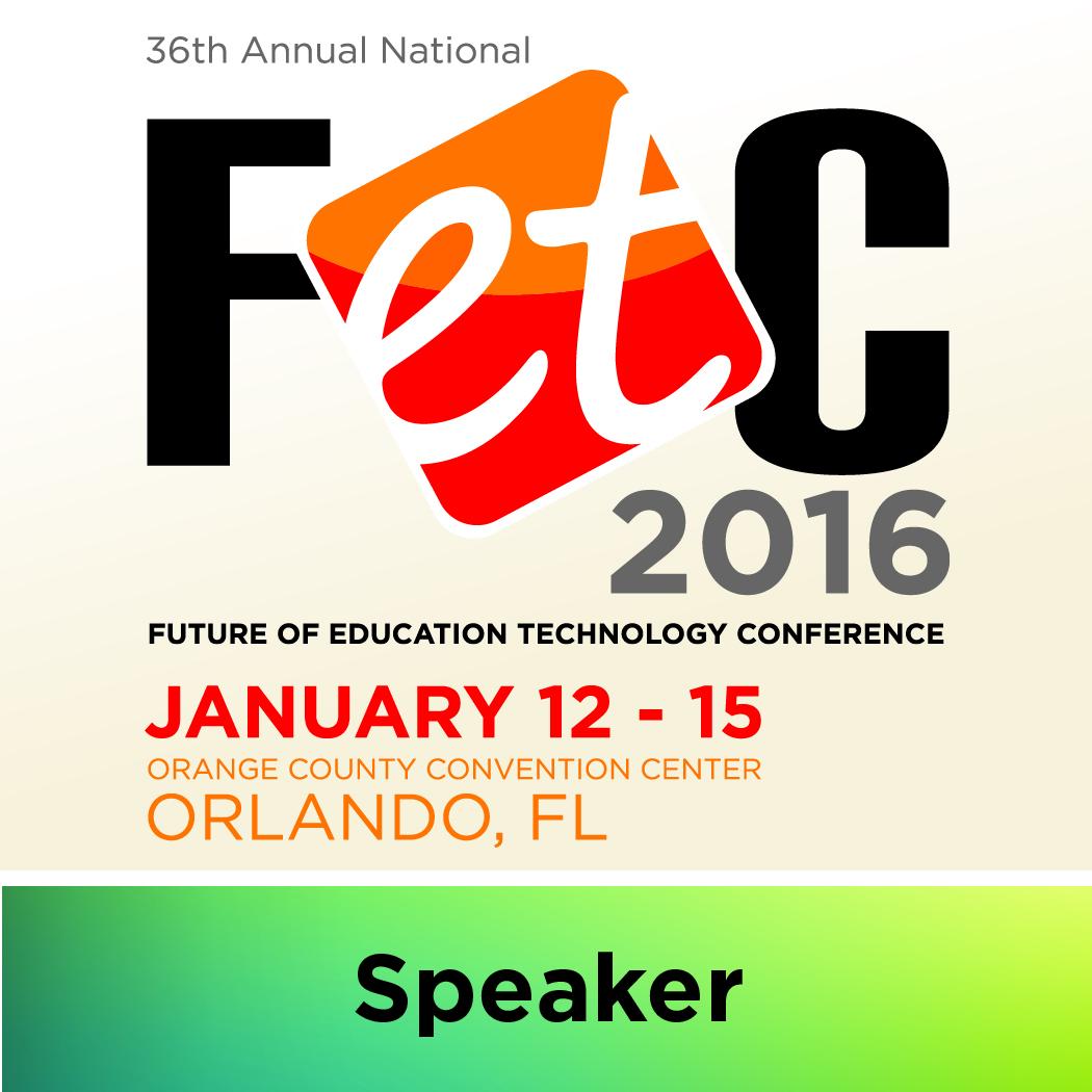 FETC 2016 Speaker