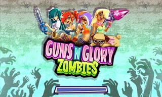 Screenshots of the Guns n Glory Zombies for Android tablet, phone.