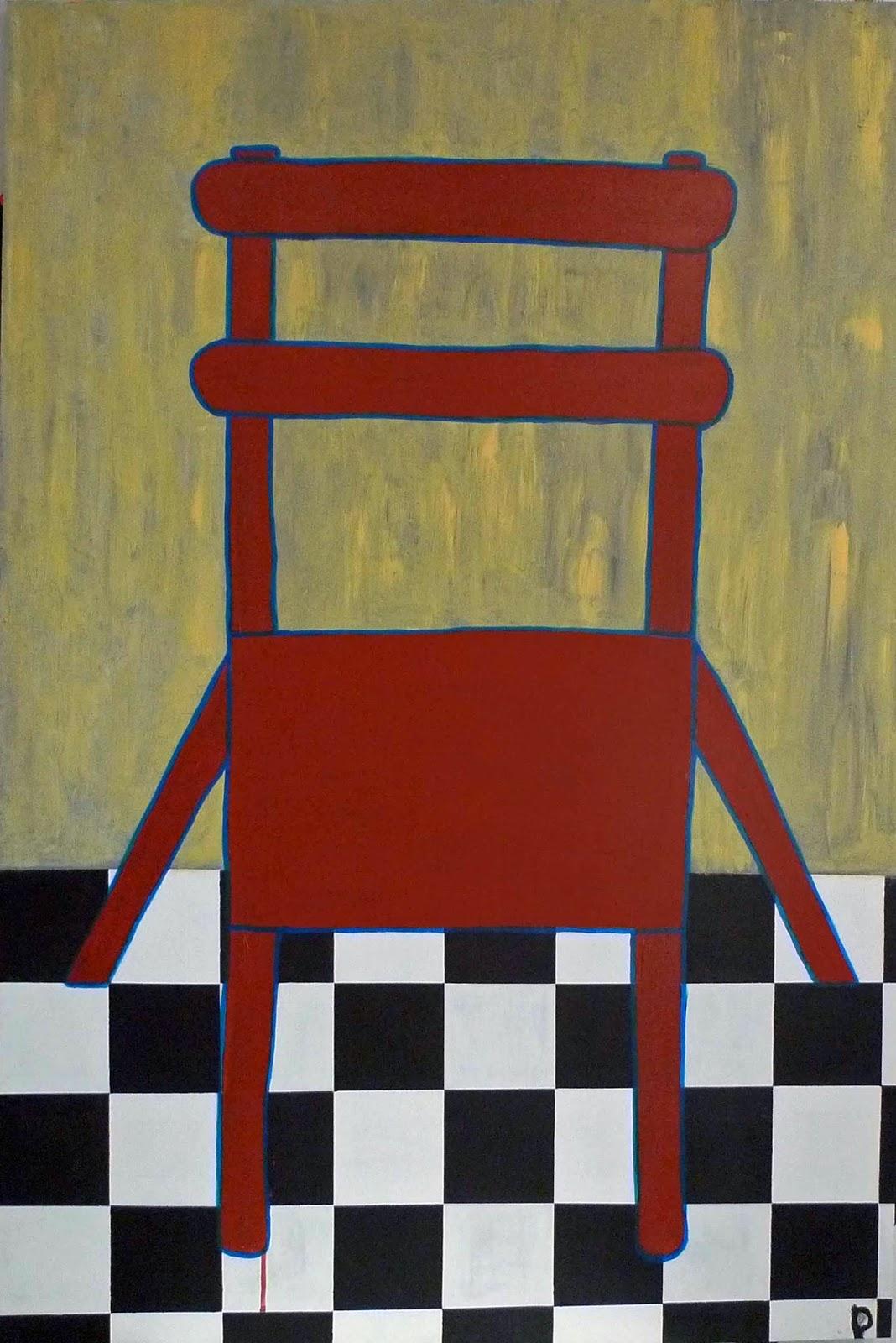 Denieuwepanorama gedeelde verbeelding de rode stoel en die van vincent van gogh - Stoel rode huis van de wereld ...