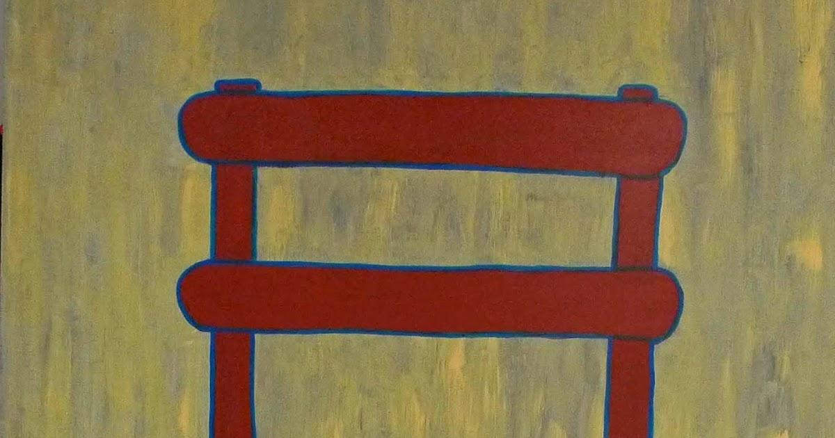 Dekrant de rode stoel en die van vincent van gogh - Stoel rode huis van de wereld ...
