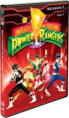 Power Rangers to be Released on DVD Boxed Set