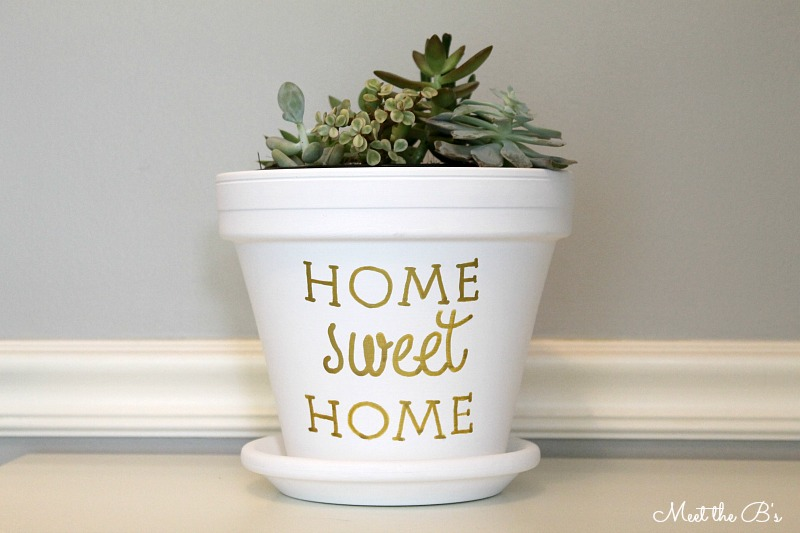 Housewarming gift- succulent planter | The Inspired Hive