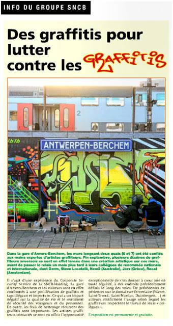 Des graffitis pour lutter contre les graffitis