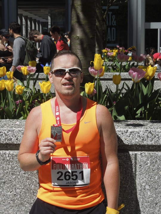 after Vancouver Marathon