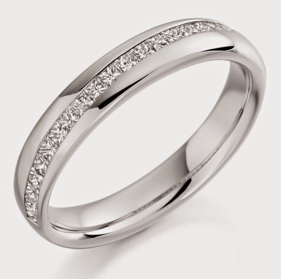 Cheap White Gold Wedding Bands UK Model Pictures HD