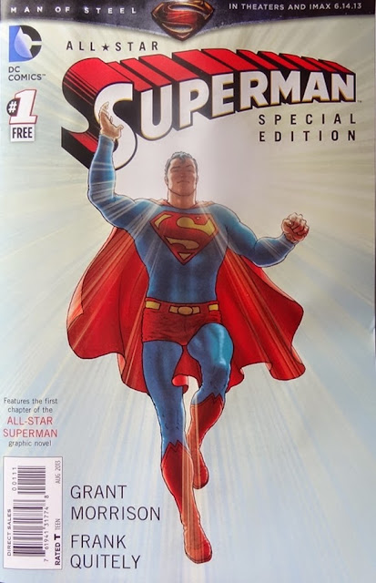All Star Superman Comic #1,Man of Steel