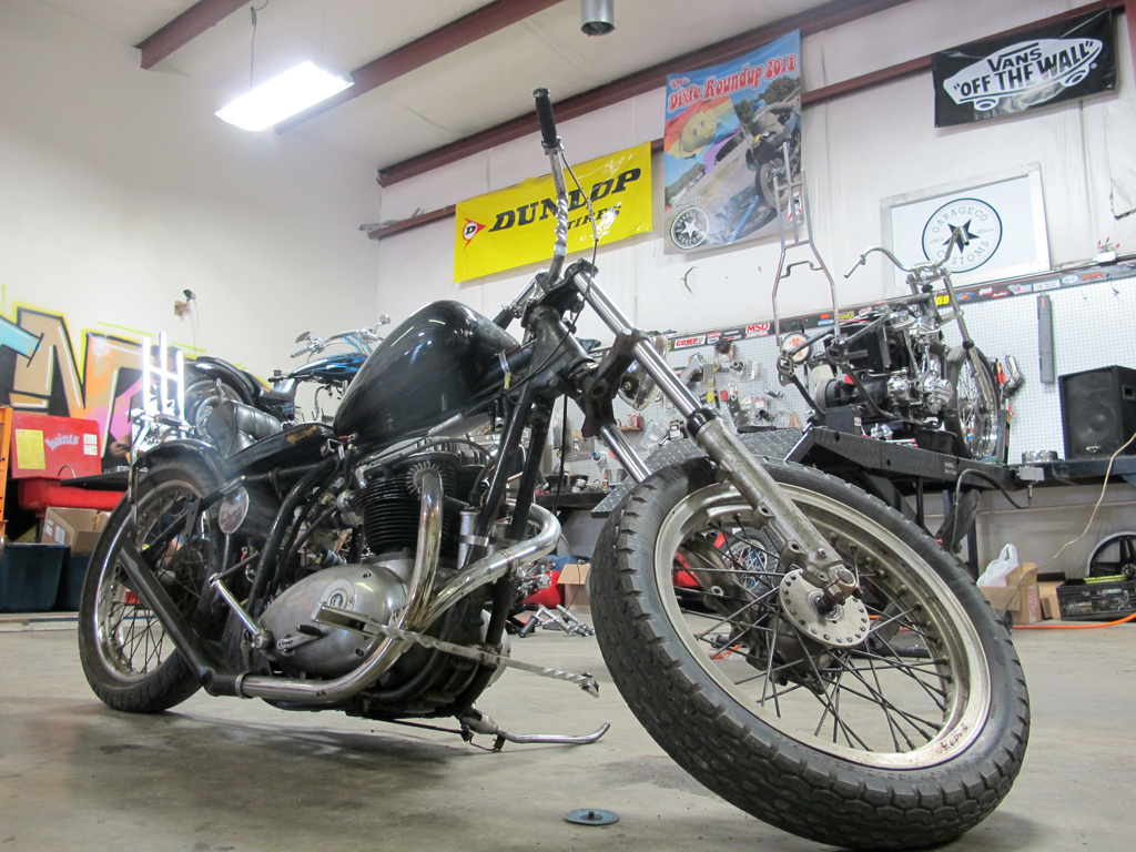 What I See  BSA Chopper For Sale