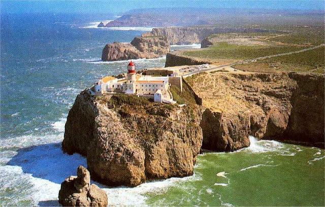 Cabo de São Vicente no Algarve