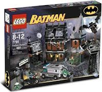 batman lego asylum 7785
