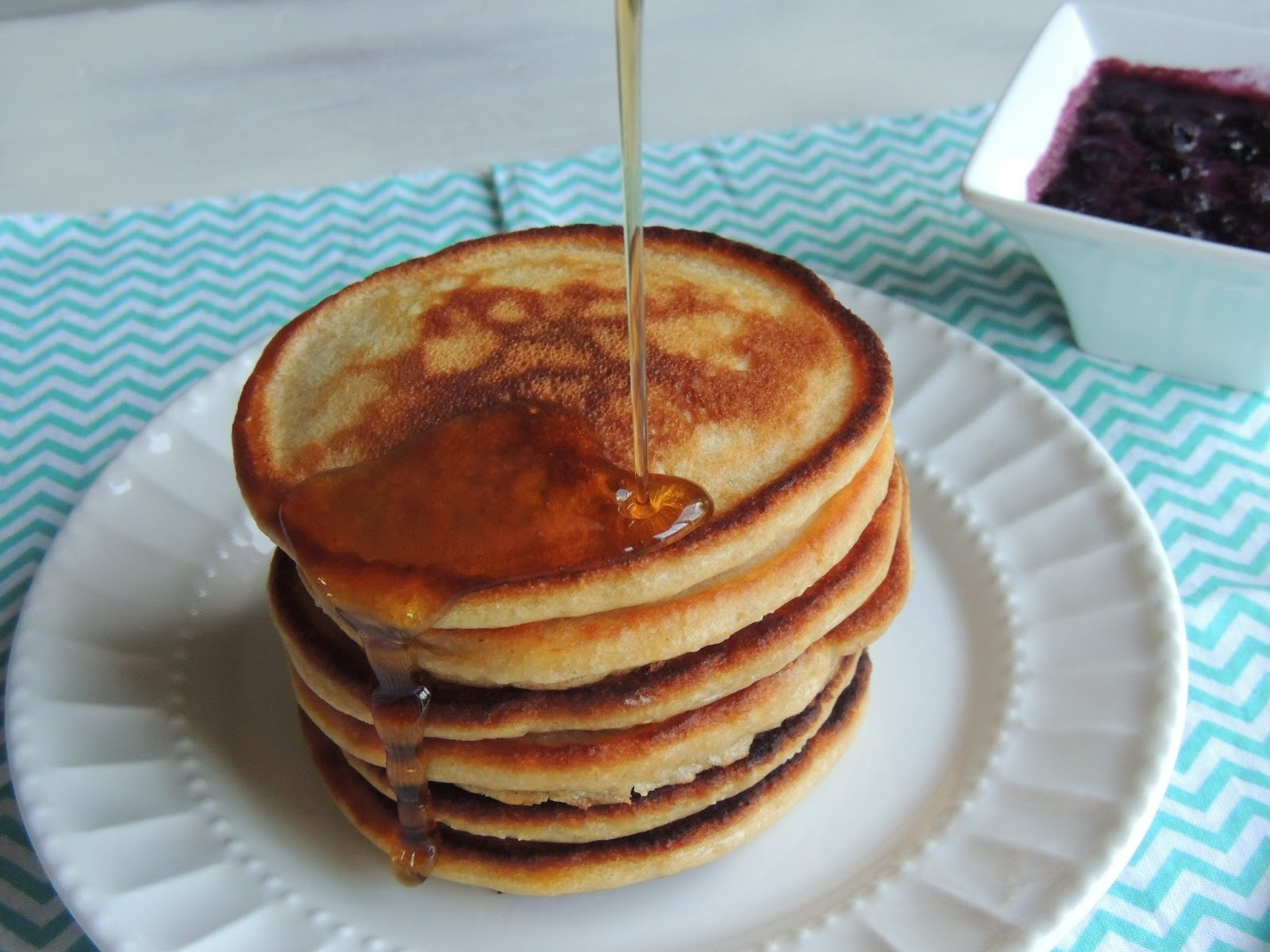 Leave a Happy Plate: Peanut Butter and Jelly Pancakes