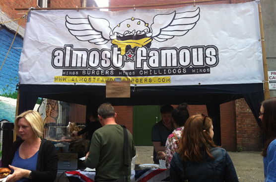 Jubilee Manchester Street Party - Almost Famous Manchester