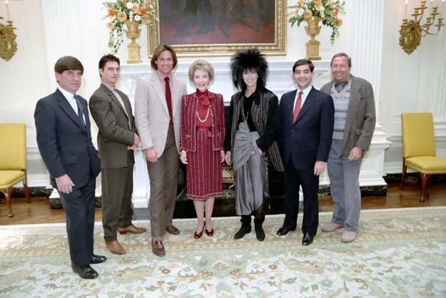 pictures of  u0026 39 80s pop culture at the reagan white house