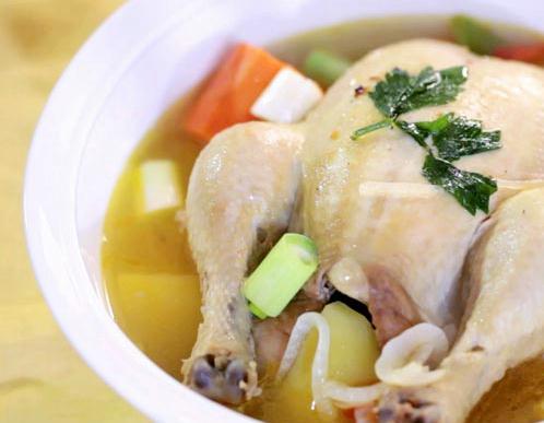 Samgyetang Korean Food