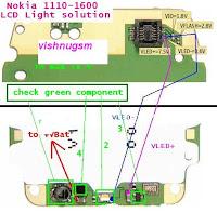 nokia 6030 lcd problem