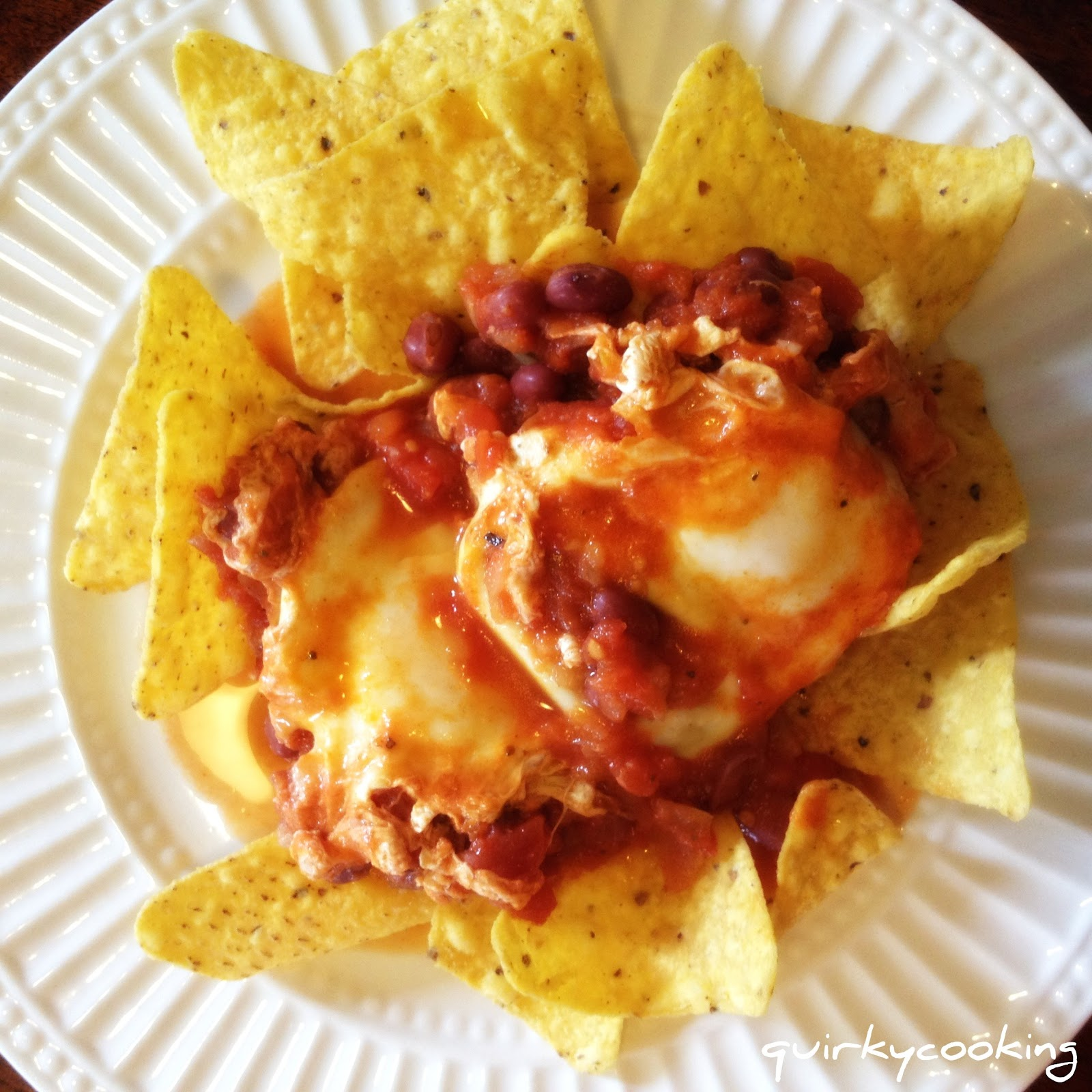 Quirky Cooking: Huevos Rancheros and Vegetarian Nacho Sauce with ...