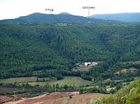 El voltant de la masia El Puig
